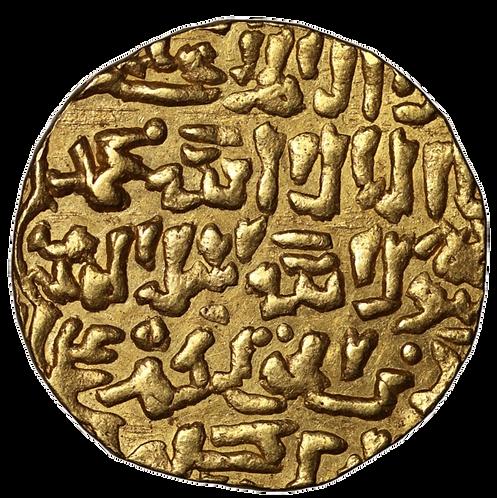 BURJI MAMLUKS, BARQUQ, SECOND REIGN, GOLD DINAR, AH798.