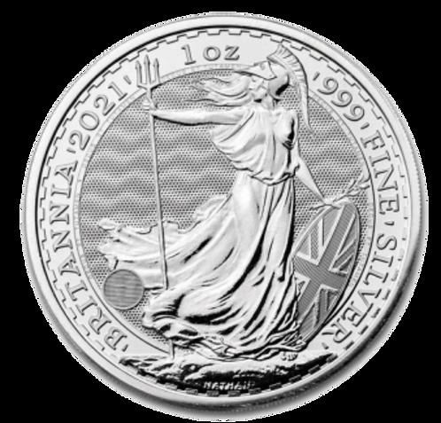 Britannia One Ounce 2021 Silver Coin