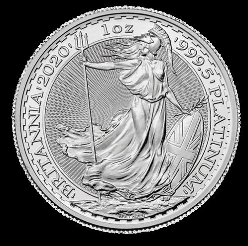 Britannia 2020 1 oz Platinum Bullion Coin