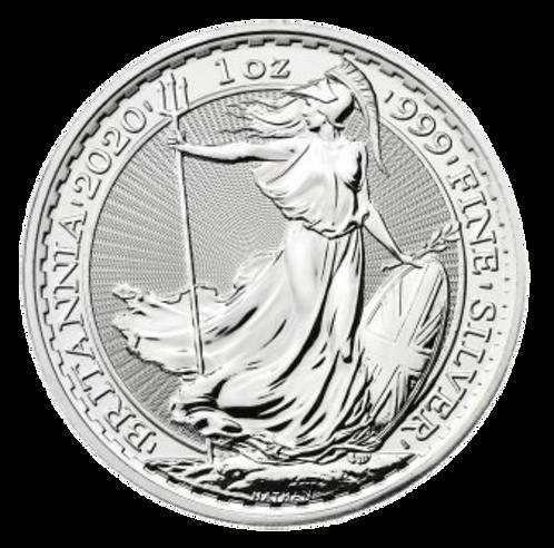 Britannia One Ounce 2019/20 Silver Coin