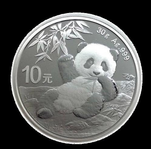 30g Silver Panda Coin (Rare) - Mixed Years 2016-2020