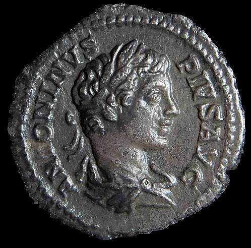 Caracalla Denarius AD 204