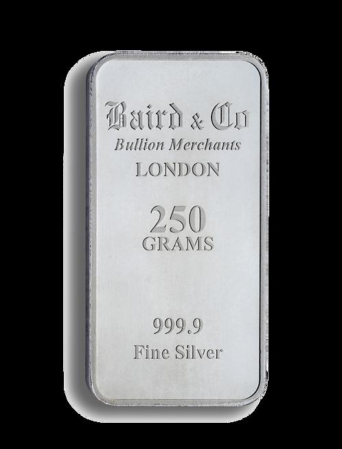 250g Silver Minted Bar