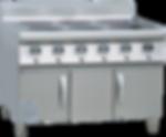 櫃式六頭煲仔爐 | 型號:VG-B6D3-A3.5*6