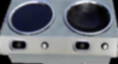 半嵌入式組合爐