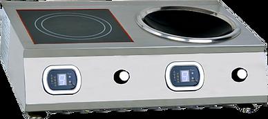 台式電磁組合爐 | VG-B2-B5*2D