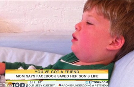 Facebook Saves 4 Year Old Boys Life