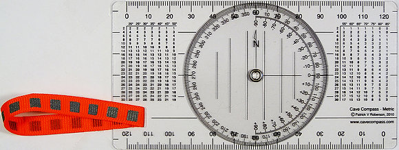 Cave Compass - Metric