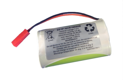 Spare 2 Cell Battery