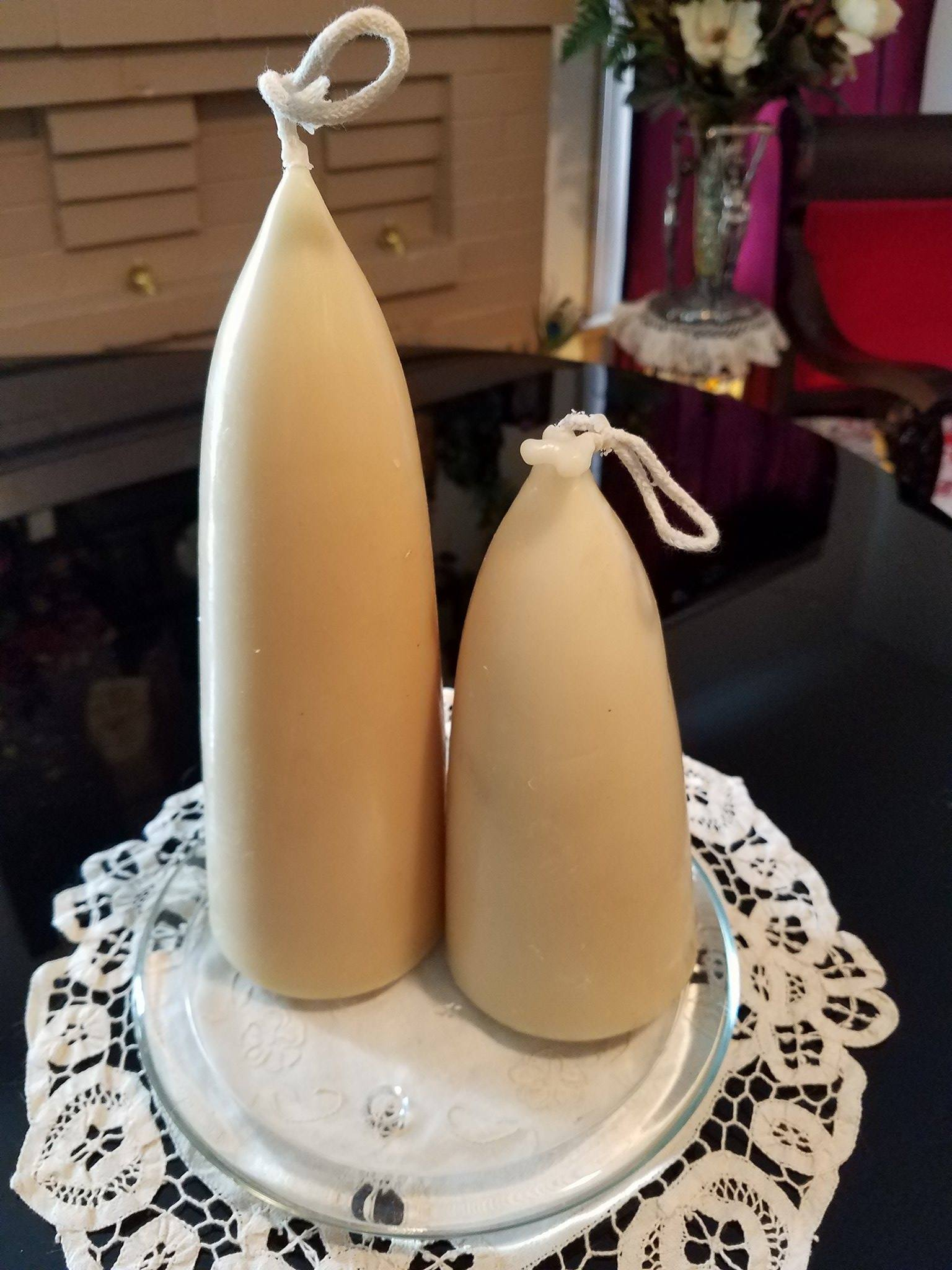 100% Beeswax Tapered Candles