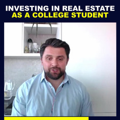 Investing in Real Estate As A College St