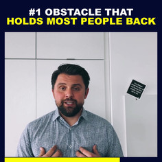 #1 Obstacle That Holds Most People Back-