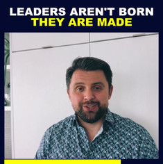 Leaders Aren't Born They Are Made - Inst