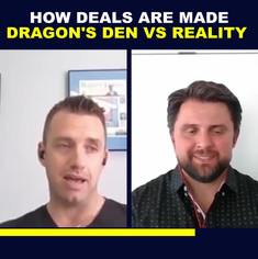 How Deals Are Made Dragons Den vs Realit