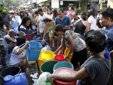 Breaking News: Philippines is Running Out of Water...