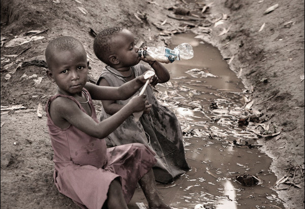Drinking Water Is Essential For Life...Africa