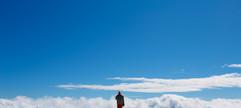 In the clouds at Perisher - 2015