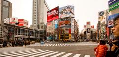 Shibuya Crossing, Japan - 2015