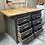 Thumbnail: Meuble d'atelier à tiroirs
