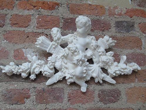 Décoration murale en plâtre