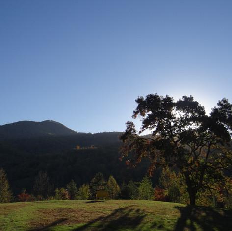 "Sunset As Seen From ""Honey Hill"""