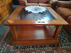 REF. A439 MESA DE CENTRO - COFFEE TABLE 100 x 100 145€