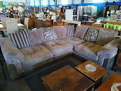 sofá rinconera - corner sofa 275 x 205 cm. 445€