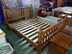 REF. A327 CAMA (SIN COLCHÓN) - BED (NO MATTRESS) 150 X 190 CM. 165€