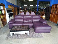 Sofá de piel eléctrico - Leather electric sofa 285 x 160 cm. 545€