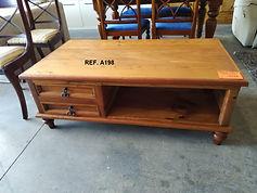 Ref. A198 Mesa de centro - Coffee table 125 x 70 cm. 175€