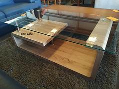 REF. A636 MESA DE CENTRO - COFFEE TABLE 120 x 65 cm. 95€
