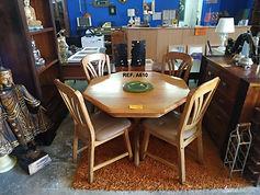 REF. A610 MESA + 4 SILLAS - TABLE + 4 CHAIRS 120 CM. 165€