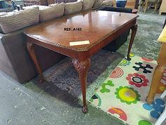 Ref. A163 Mesa extensible - extendable table 140 x 85 cm. - 185 x 45 cm. 145€