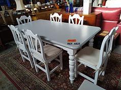 REF. A925 MESA + 6 SILLAS - TABLE + 6 CHAIRS 180 x 90 cm. 195€