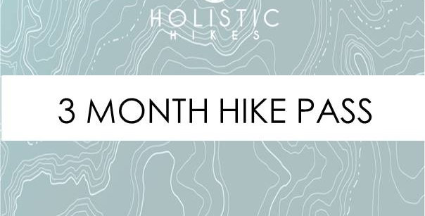 3 MONTH HIKE PASS