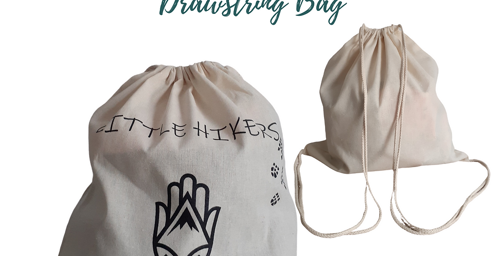 Little Hikers Drawstring Bag