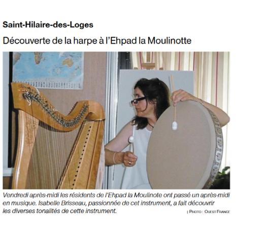 Ehpad la Moulinotte St Hilaire des Loges