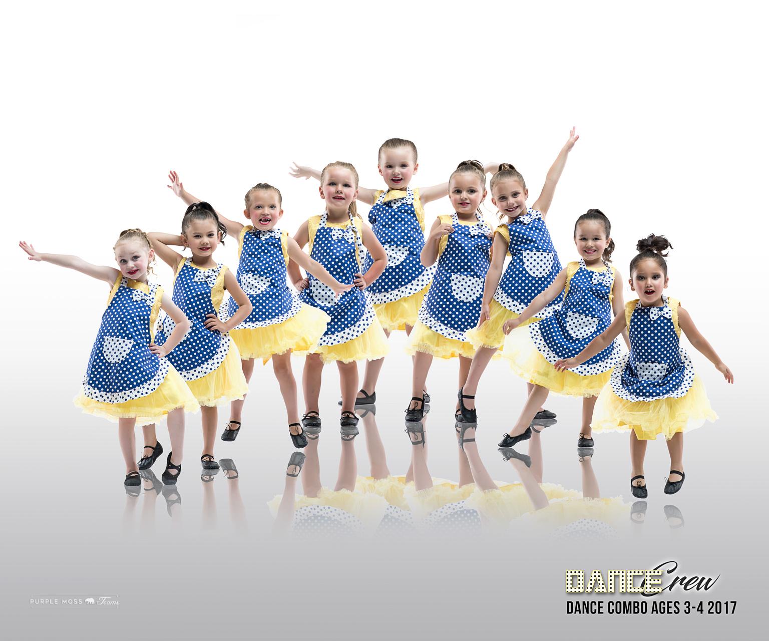 Dcrew Dance Combo 3-4