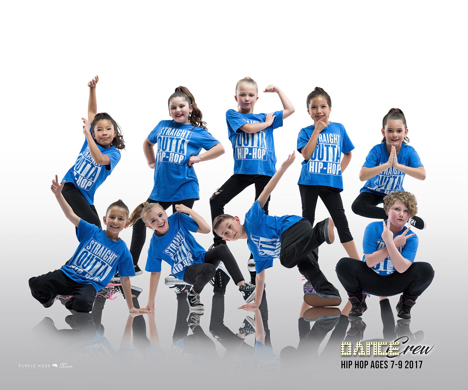 DCREW Hip-Hop 7-9 group