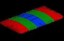 Trampoline géant 35 X 50