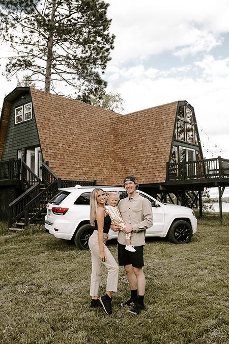 Atlas Aframe, Family Cabin Weekend + Hea