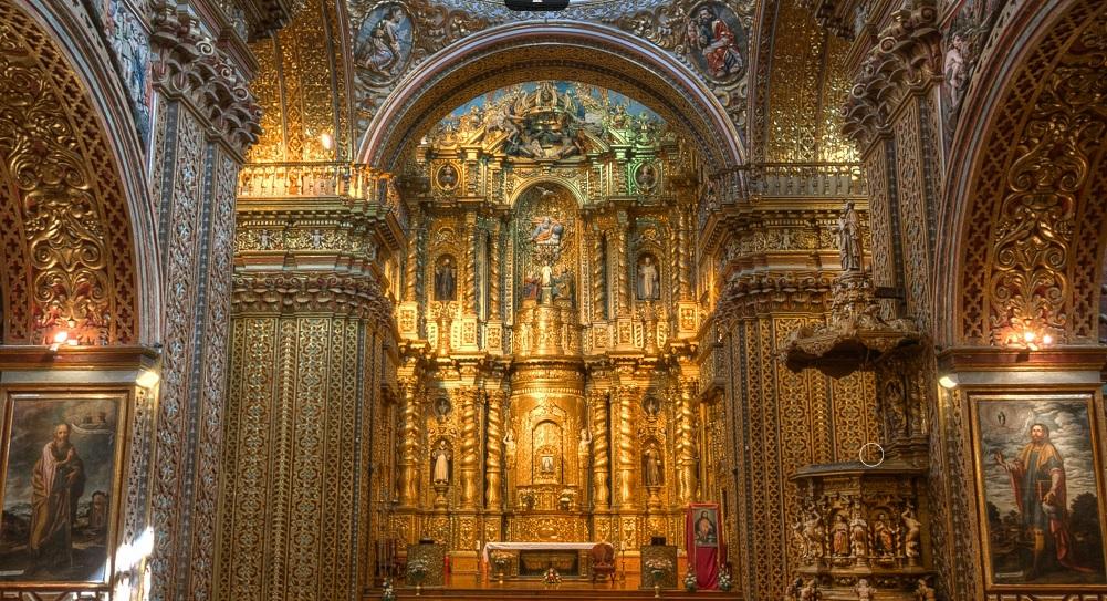 Unique colonial Churches