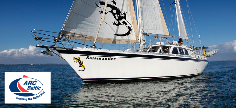 ARC Baltic Rally with The Salamander Sailing Adventure a well-known ARC participant to experience life on board blue water sailing yacht which has already circumnavigated the world and completed ARC 2017, ARC 2018, ARC 2019, and ARC Europe 2019 Email info@thesalamandersailingadventure.com Call or Text +44 (0)7798 524111