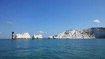 Salamander Boat Trips to see the world famous Needles on the Isle of Wight with The Salamander Sailing Adventure Needles Isle of Wight Luxury Boat Trip with lunch at The George Hotel Yarmouth Isle of Wight #GetInTouch2GetOnBoard +44 (0)7798 524111