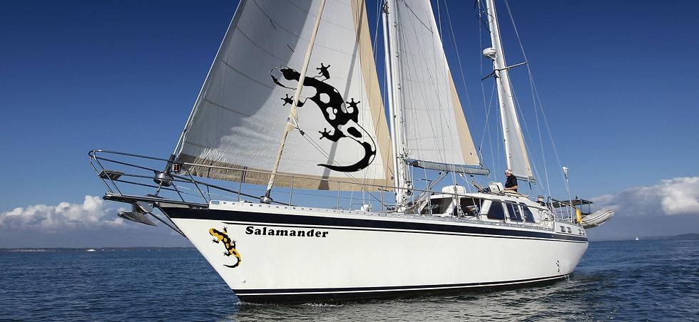 Baltic Sailing Yacht Charter with The Salamander Sailing Adventure