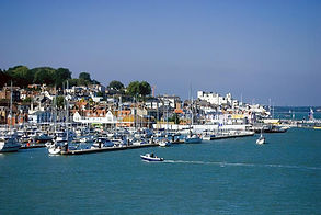 Lymington the Solent and Isle of Wight luxury sailing holidays short breaks weekend breaks with The Salamander Sailing Adventure Lymington The Solent and Isle of Wight Solent Sailing Holidays #GetInTouch2GetOnBoard +(0) 7798 524111 visiting Cowes