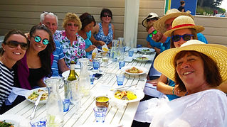 Celebrate birthdays weddings honeymoons reunions anniversaries at The Hut in Colwell Bay on the Isle of Wight with The Salamander Sailing Adventure Needles and The Hut Boat Trip your Official Hut Partner Call or Text 07798 524111