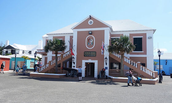 Visiting Bermuda Town Hall ARC Atlantic crossing with The Salamander Sailing Adventure a well-known ARC participant to experience life on board blue water sailing yacht which has already circumnavigated the world and completed ARC 2017, ARC 2018, ARC 2019, and ARC Europe 2019 Email info@thesalamandersailingadventure.com Call or Text +44 (0)7798 524111