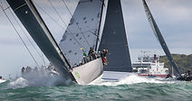 Choose the Salamander Spectator Boat to see the start of the famous Rolex Fastnet Race the World's Biggest Offshore Race with The Salamander Sailing Adventure with 5 star VIP Corporate Hospitality for thrilling on the water spectating #GetInTouch2GetOnBoard +44 (0)7798 524111