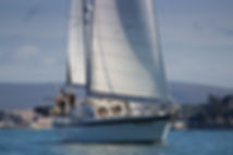 Luxury Yacht Charter Sailing from Lymington Solent South Coast
